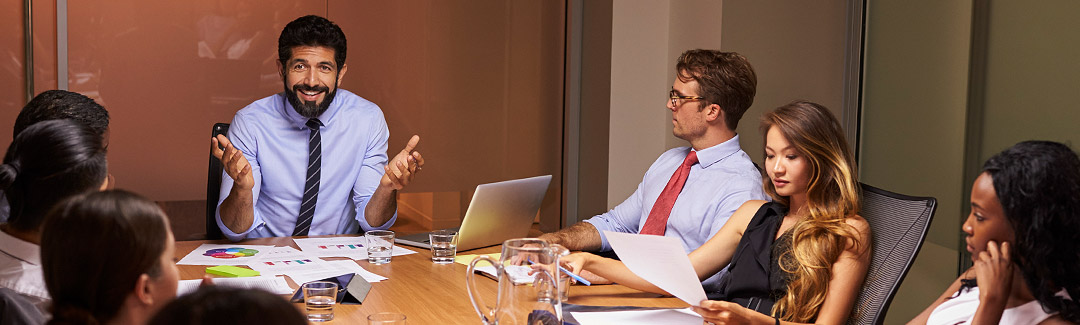 Digital Transformation at a board room