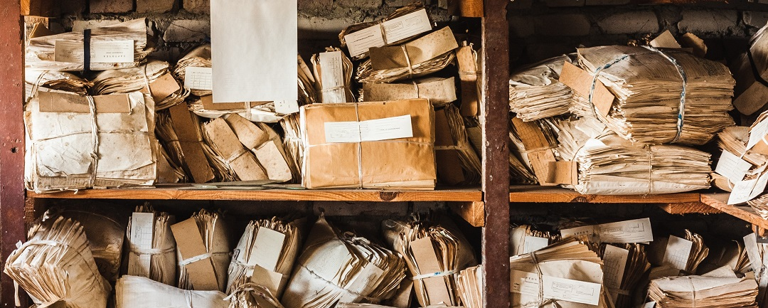 digitisation is needed for parcels, letters, mail stacked on shelves