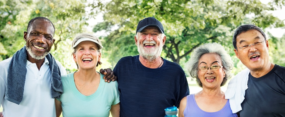 Meet Up Retired Wellbeing Pensioner Workout Concept apps
