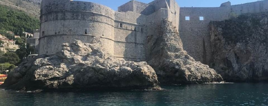 Wall Dubrovnik Croatia Timico Work Party