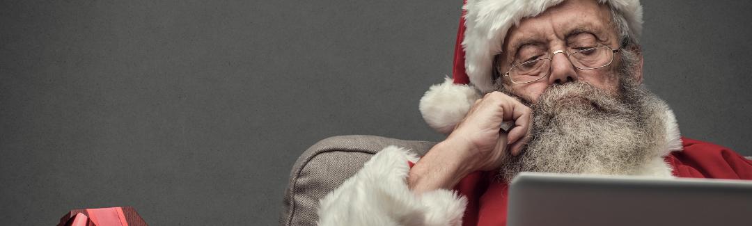 converged managed services it provider solutions santa christmas holidays digital transformation